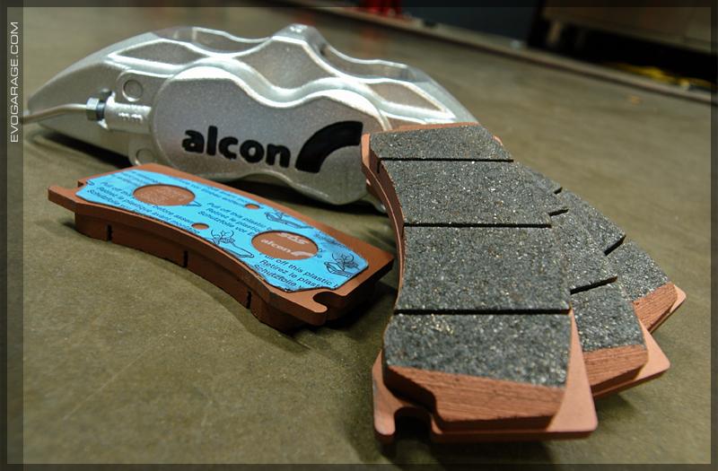 alcon brake pad
