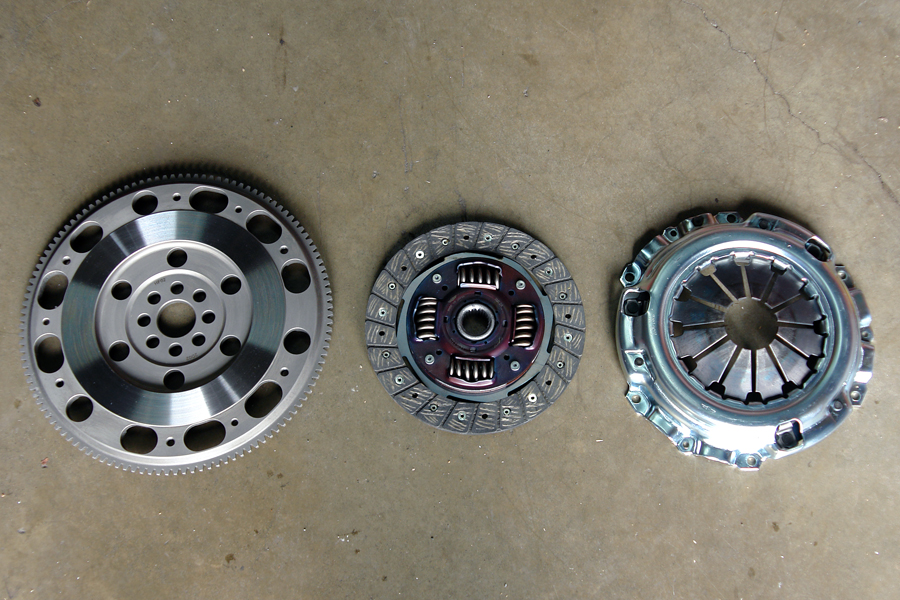 exedy stage 1 clutch flywheel