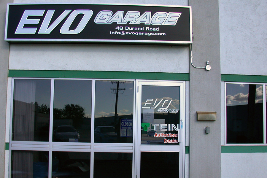 Evo Garage Winnipeg